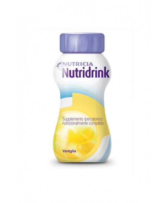 Nutricia Nutridrink Integratore Alimentare Gusto Vaniglia 4x200ml - Farmafamily.it