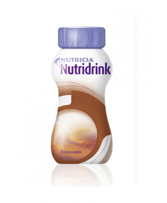 NUTRIDRINK CIOCCOLATO 4 X 200 ML - Farmastop