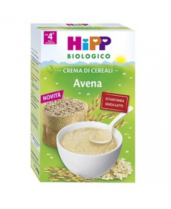 HiPP Biologico Crema Ai Cereali Avena 200g - Farmafamily.it