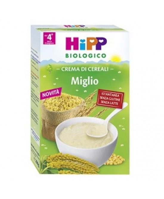 HiPP Biologico Creme Ai Cereali Miglio 200g - Farmafamily.it