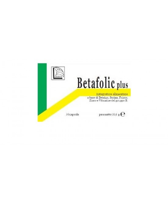 Betafolic Plus 30cps - Farmia.it