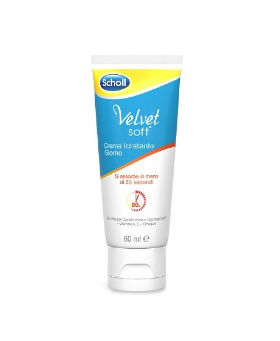 Scholl Velvet Soft Crema Idratante Giorno 60ml - Farmapage.it