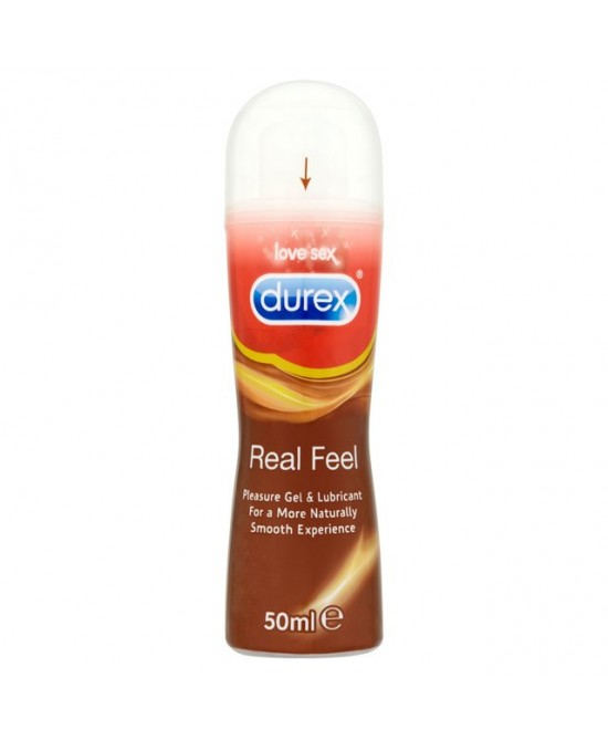 Durex Real Feel Gel Lubrificante 50ml - Farmaciaempatica.it