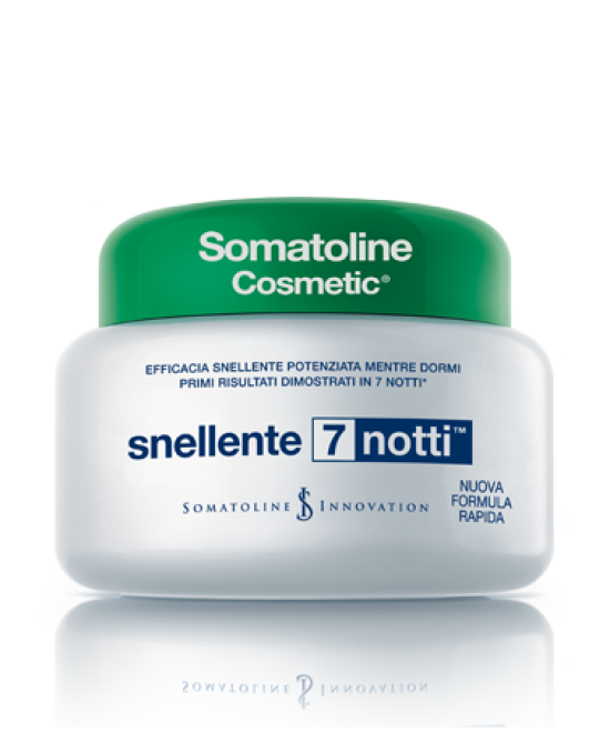 SOMATOLINE COSMETIC ANTICELLULITE  SNELLENTE 7 NOTTI CREMA 400 ML - Farmastar.it