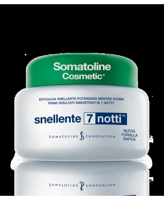 Somatoline Cosmetic Snellente intensivo 7 notti Vaso 400 ml - latuafarmaciaonline.it