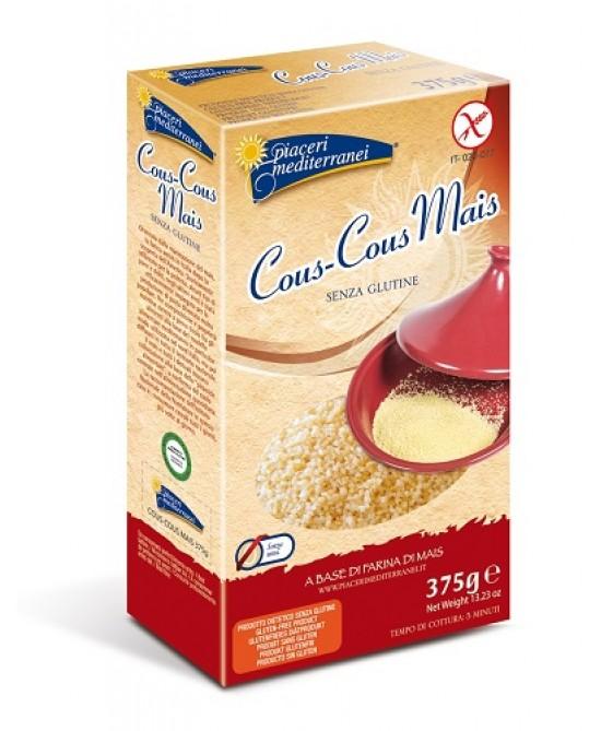 Piaceri Mediterranei Pasta di Mais Cous Cous Senza Glutine 375 g