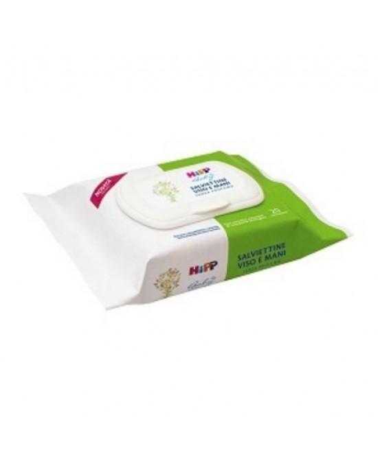 HiPP Biologico Baby Salviettine Viso E Mani 20 Pezzi - Farmastar.it