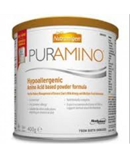 Nutramigen Puramino Latte In Polvere Ipoallergenico 400g -