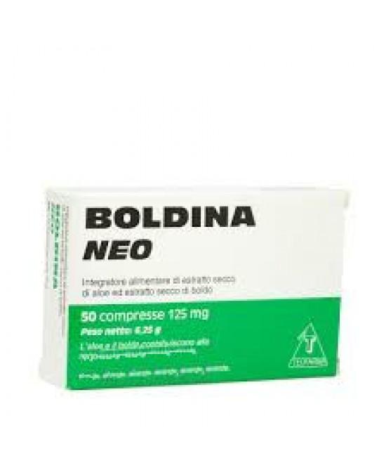 BOLDINA NEO 50 COMPRESSE 125 MG - Farmacia Centrale Dr. Monteleone Adriano