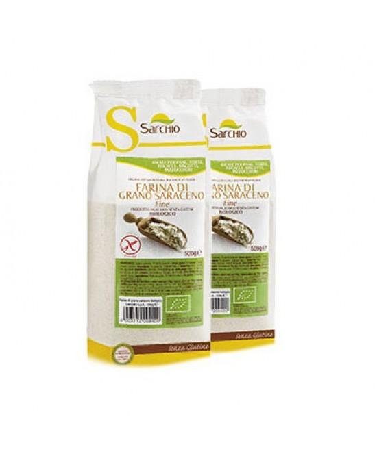 Sarchio Farina Di Grano Saraceno Fine Senza Glutine 500 g
