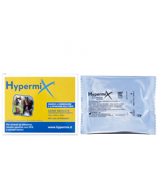 HYPERMIX GARZE 10X10CM 15 PEZZI - Farmabros.it