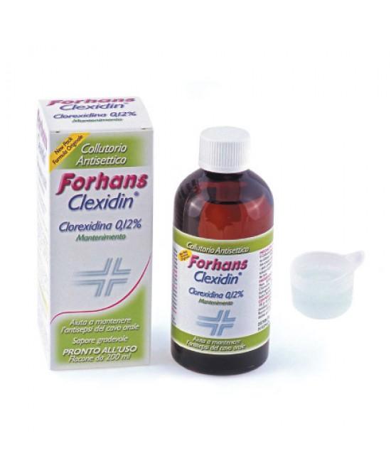 Forhans Clexidin Clorexidina 0,12% Collutorio 200ml - Farmaci.me