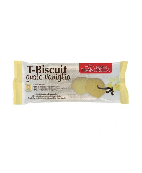 Tisanoreica T-Biscuit Vaniglia 50g - Iltuobenessereonline.it