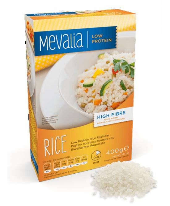 Mevalia Rice Pastina Aproteica Formato Riso 400g - Farmastar.it