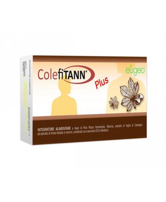 Eugeo ColefiTann Plus Integratore Alimentare 30 Compresse