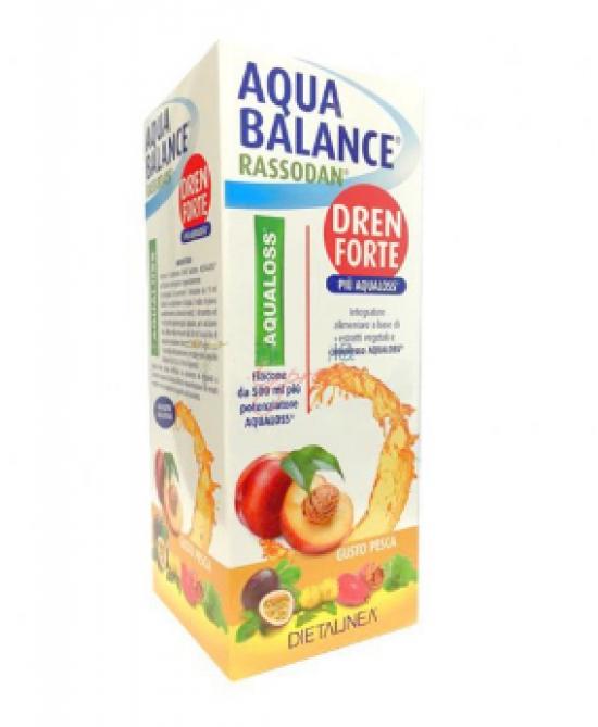 AQUA BALANCE RASSODAN DREN FORTE GUSTO PESCA 500 ML DIETALINEA+AQUALOSS - Farmacia Puddu Baire S.r.l.