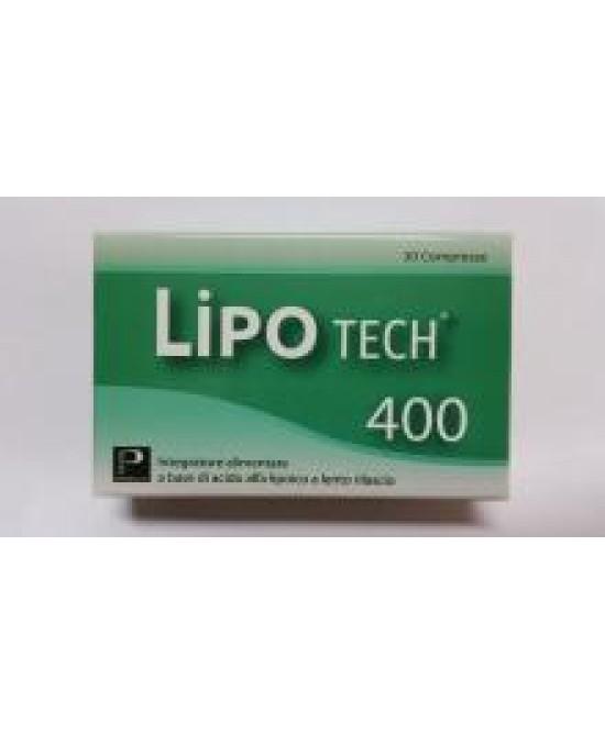 LIPOTECH 400 30 COMPRESSE - Zfarmacia