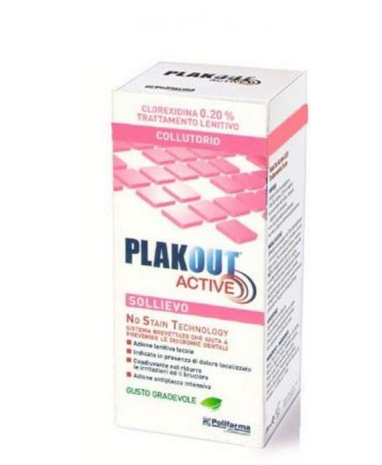 Plakout Active Sollievo 200ml - Farmapage.it