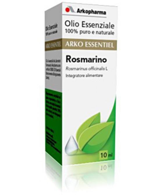 Arkopharma Arko Essentiel Olio Essenziale Di Rosmarino 10ml - Farmacento
