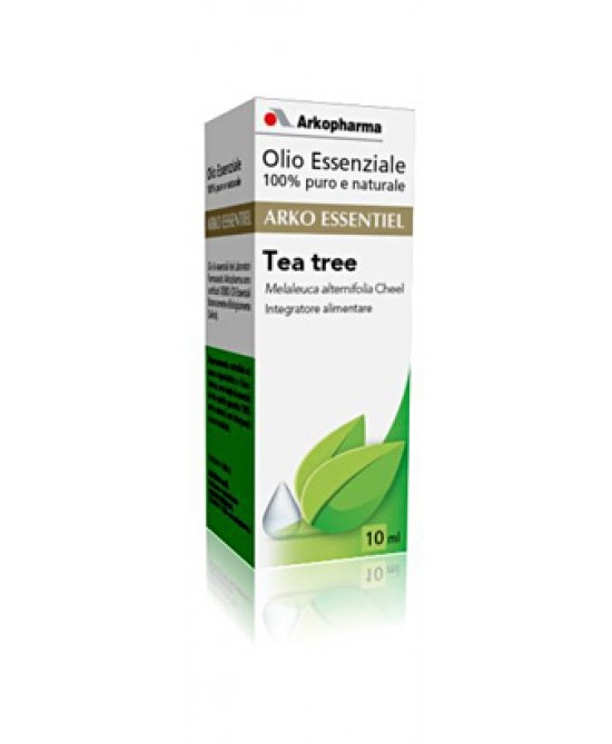 Arkopharma Olio Essenziale Di Tea Tree 10ml - Farmafamily.it