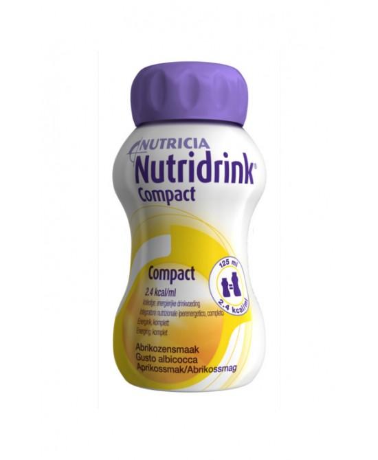 NUTRIDRINK COMPACT ALBICOCCA 4X125 ML - Farmafamily.it