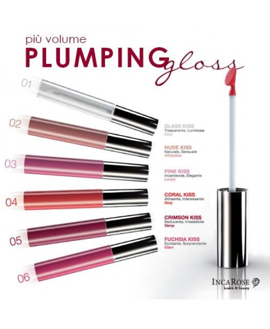 IncaRose Plumping Gloss Colore 01 Glass - Farmafamily.it