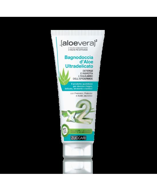 Zuccari Aloevera2 Bagnodoccia D'Aloe Ultradelicato 250ml - La tua farmacia online