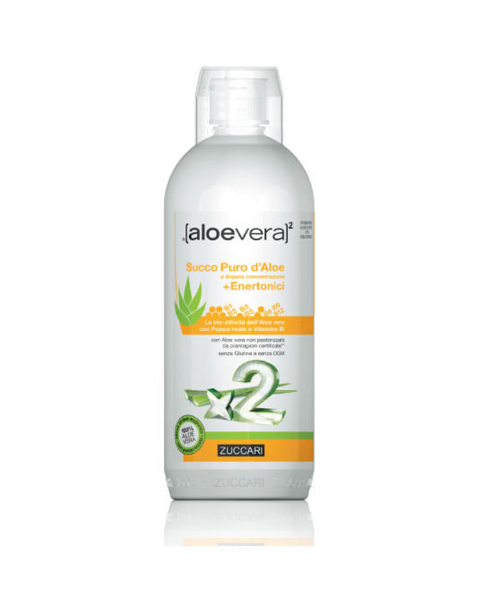 Aloevera2 Succo Puro D'Aloe + Enertonici 1000ml - Farmafamily.it