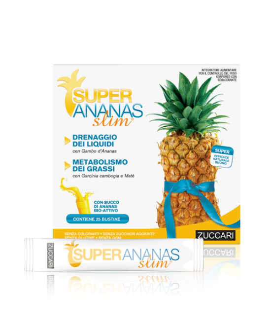 Super Ananas Slim  25 Bustine Da 10ml - latuafarmaciaonline.it