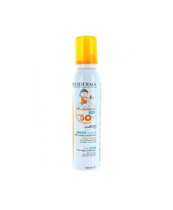 Bioderma Photoderm Kid Mousse Spf50+ 150ml - Iltuobenessereonline.it