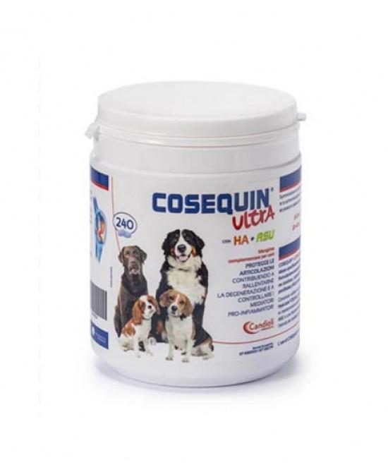 Candioli Cosequin Ultra Con HA + RSU Protegge Le Articolazioni 240 Compresse
