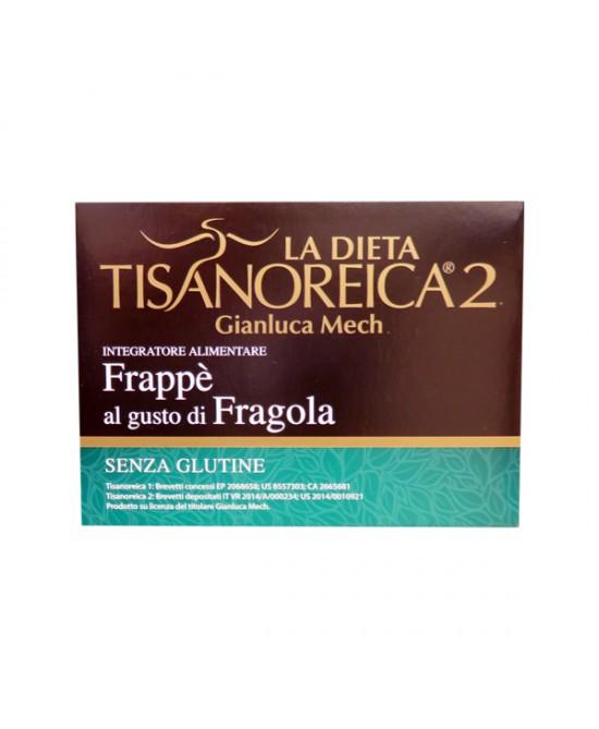 Tisanoreica2 Frappè Al Gusto Di Fragola Senza Glutine 4 Buste Da 27,5g - Iltuobenessereonline.it