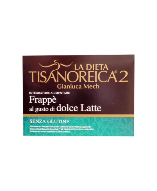 Tisanoreica2 bevanda al gusto Dolce Latte 4 preparati da 28g - La tua farmacia online