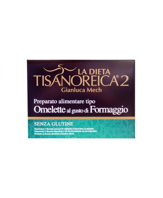 Tisanoreica2 Omelette al gusto di Formaggio 4x27,5gr - La tua farmacia online