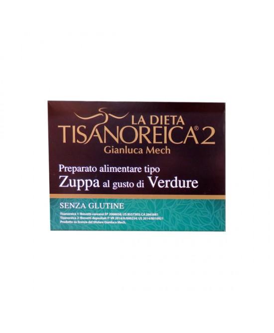 Tisanoreica2 Zuppa al gusto di Verdure 4x30gr - La tua farmacia online