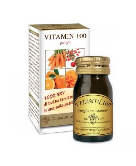 Dr. Giorgini Vitamin 100 Integratore Multivitaminico 60 Pastiglie