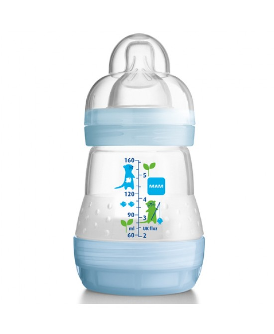 Mam First Bottle Start 160ml + Start Nanosilikonseta - Zfarmacia