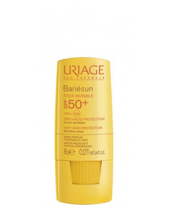 Uriage Bariésun Stick Solare Invisibile SPF 50+ Protezione Viso Corpo e Zone Sensibili 8 g