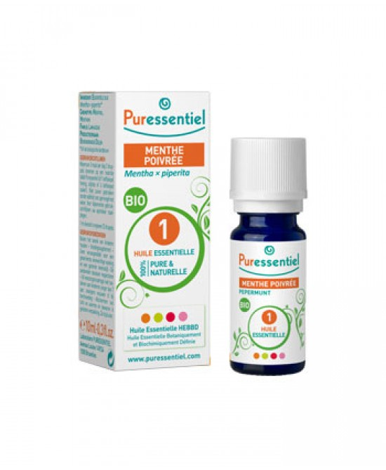 Puressentiel Olio Essenziale Menta Piperita Biologica 10ml - Farmaciaempatica.it