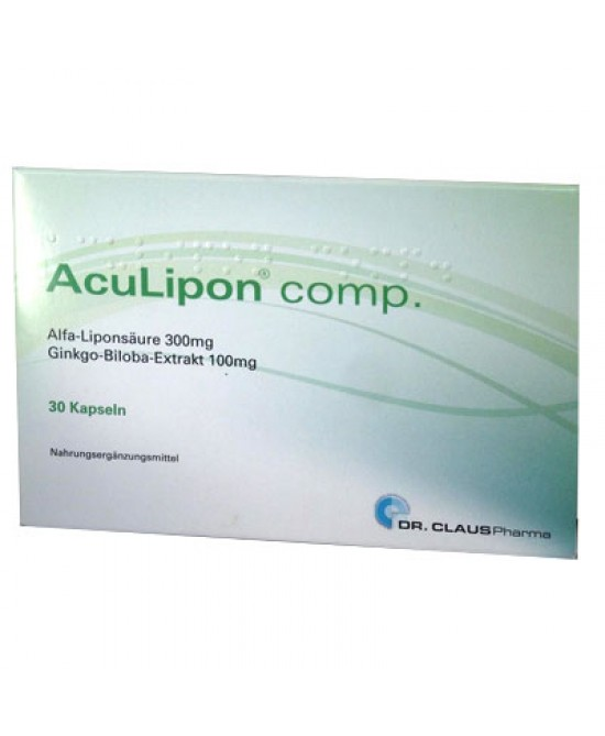 ACULIPON COMP 30 CAPSULE - Farmaseller