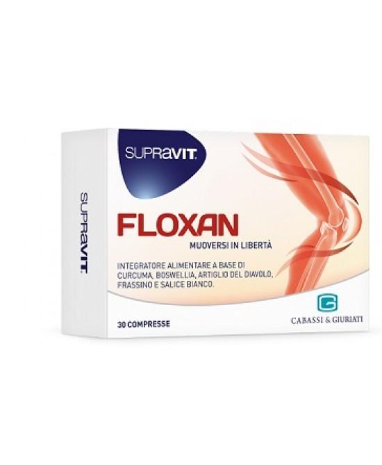 Supravit Floxan Integratore 30 Compresse