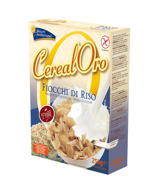 CerealOro Piaceri Mediterranei Fiocchi Di Riso Con Mais Senza Glutine 250g -