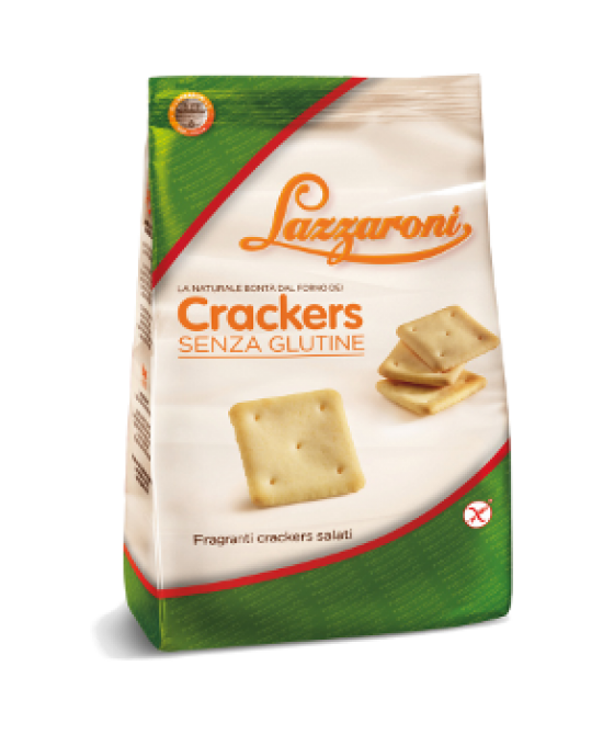 Lazzaroni Crackers Senza Glutine 200g - Farmapc.it