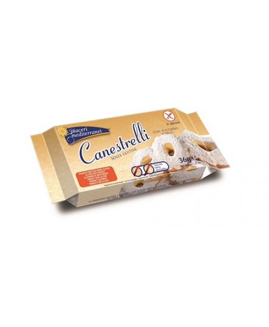 Piaceri Medit Canestrelli 36g - FARMAPRIME
