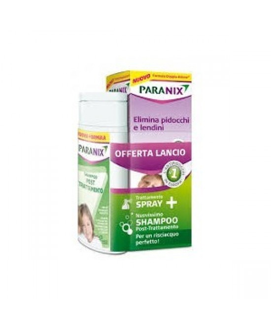 Paranix Promo Trattamento Spray 100ml + Shampoo Post Trattamento 100ml - Zfarmacia