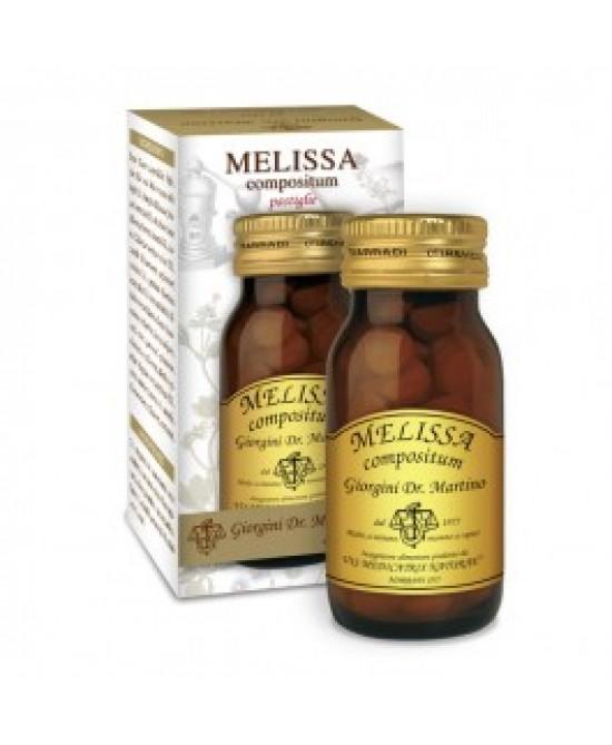 Giorgini Dr. Martino Melissa Compositum Integratore Alimentare 100 Pastiglie - Farmastar.it