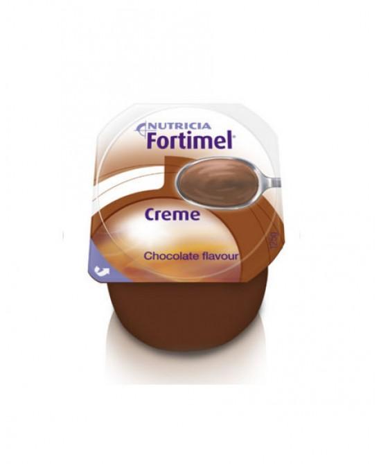 Nutricia Fortimel Creme Integratore Nutrizionale Gusto Cioccolato 4x125g - Farmapc.it