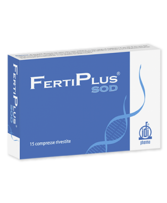 Fertiplus SOD Integratore Alimentare 15 Compresse Rivestite - Farmapage.it