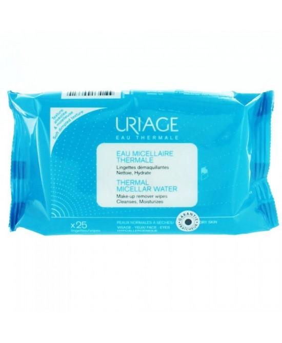 Uriage Eau Micellaire Thermale Pelli Da Normali A Secche 25 Salviettine Struccanti-927117162