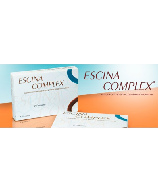 Avicenna Natural Institute Escina Complex 20 Compresse - Farmaunclick.it